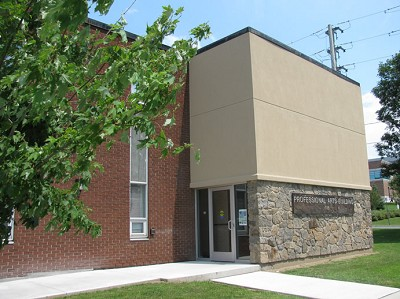 exterior door - 135 Ormond Street, Brockville office space for lease