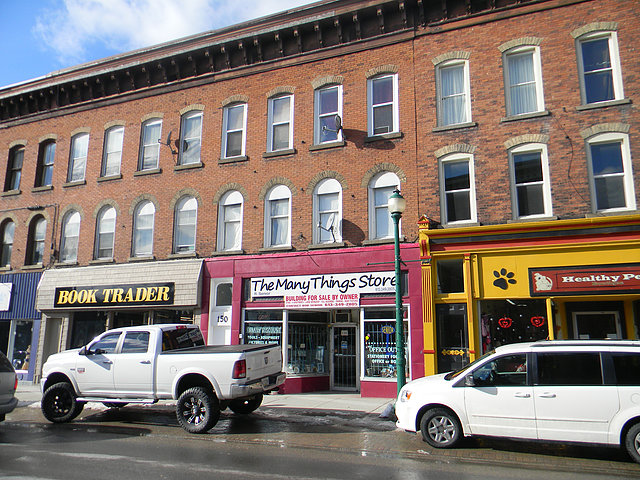 exterior view 148-150 King Street West Brockville
