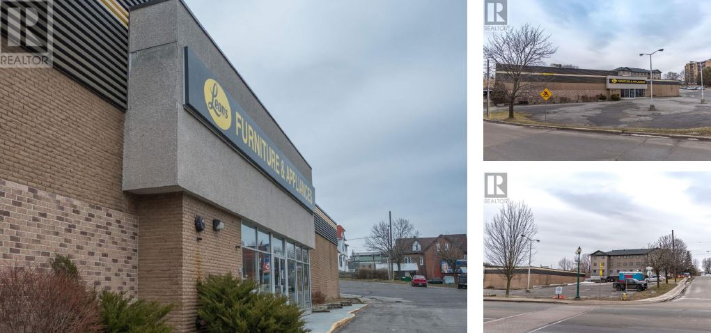 view of building for sale at 260 King Street West in Brockville Ontario