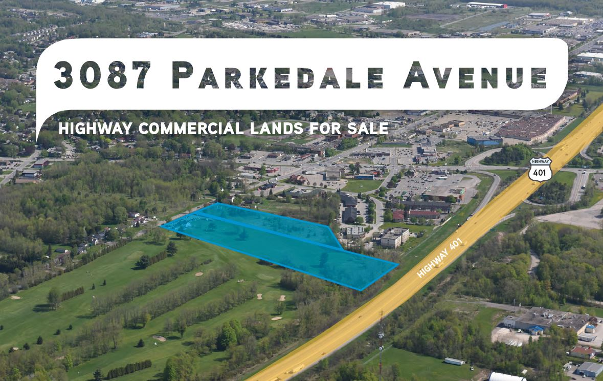 aerial view - 3087 parkedale avenue brockville land for sale