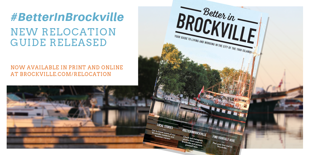 Hashtag Better In Brockville: New Relocation Guide for Brockville released