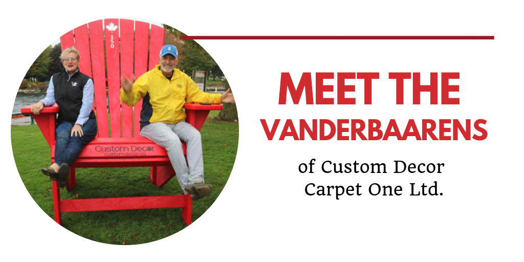 The VanderBaarens of Custom Decor Carpet One Profile Image Header