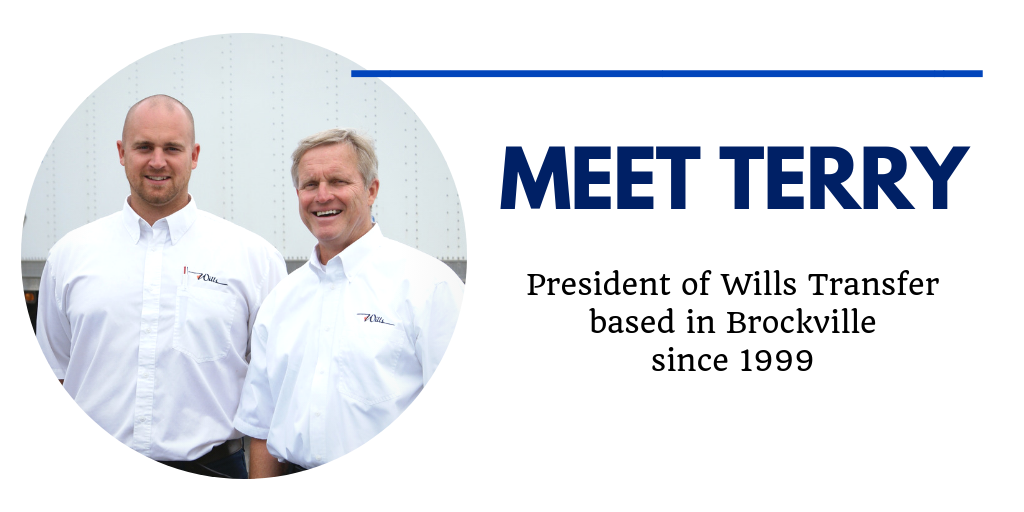 Terry Wills of Wills Transfer Profile Image Header