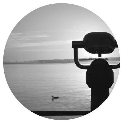 Viewfinder at Brockville's waterfront